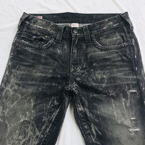 True Religion Ricky Distressed Jeans sz 34x32